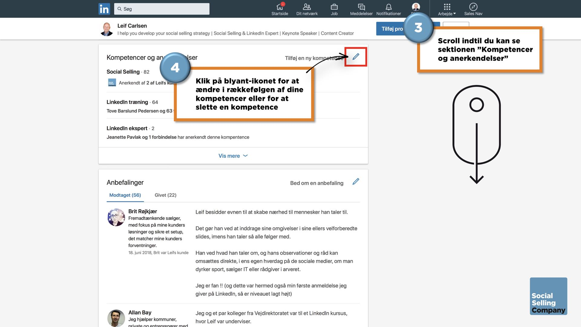 Den ultimative guide til den perfekte LinkedIn guide