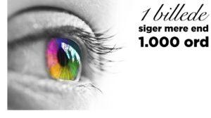 Link til blogindlæg om at 1 billede siger mere mere end 1.000 ord