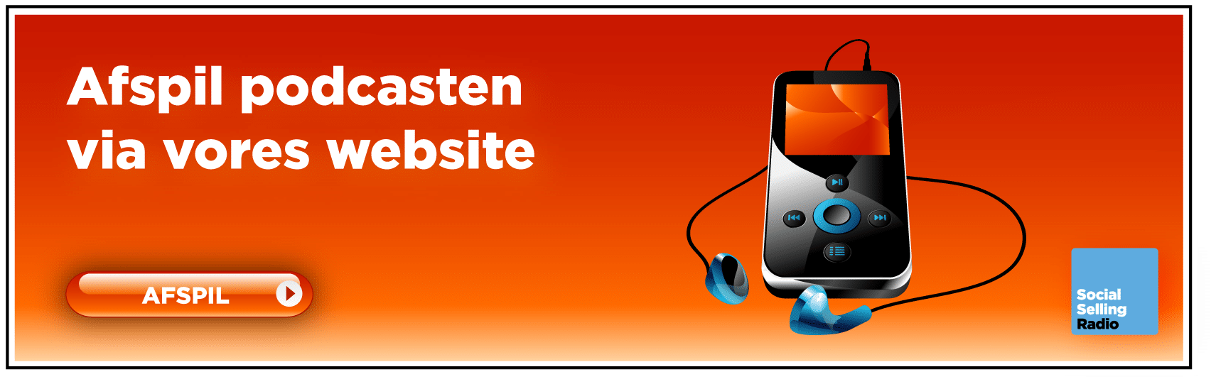 Afspil podcasten via website