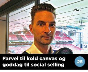Blogindlæg om F.C. Københavns farvel til kold canvas og goddag til social selling