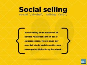 Blogindlæg om, hvad social selling er for en størrelse
