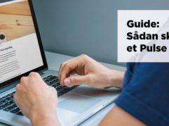 Blogindlæg om, hvordan du skriver et LinkedIn Pulse blogindlæg