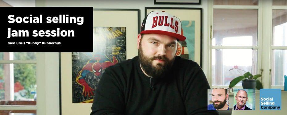 """Podcast med Chris """"Kubby"""" Kubbernus og Leif Carlsen som """"jammer"""" om social selling"""