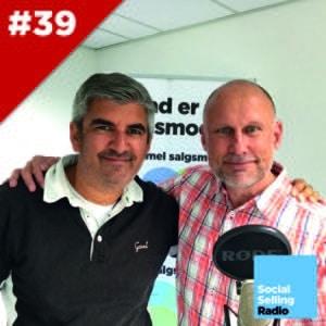 Podcast om social selling strategi, taktik og eksekvering