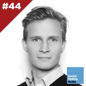 Podcast om, hvordan Copenhagen Capacity arbejder med social selling