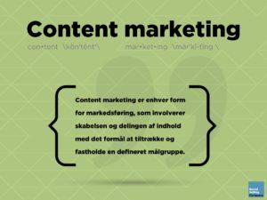 Blogindlæg om, hvordan social selling og content marketing virker