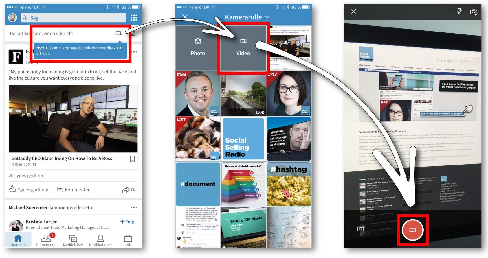 Blogindlæg om 9 ting du kan bruge LinkedIns nye videofunktion til