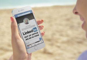 Blogindlæg om hvordan du kan lave Out of Office på LinkedIn