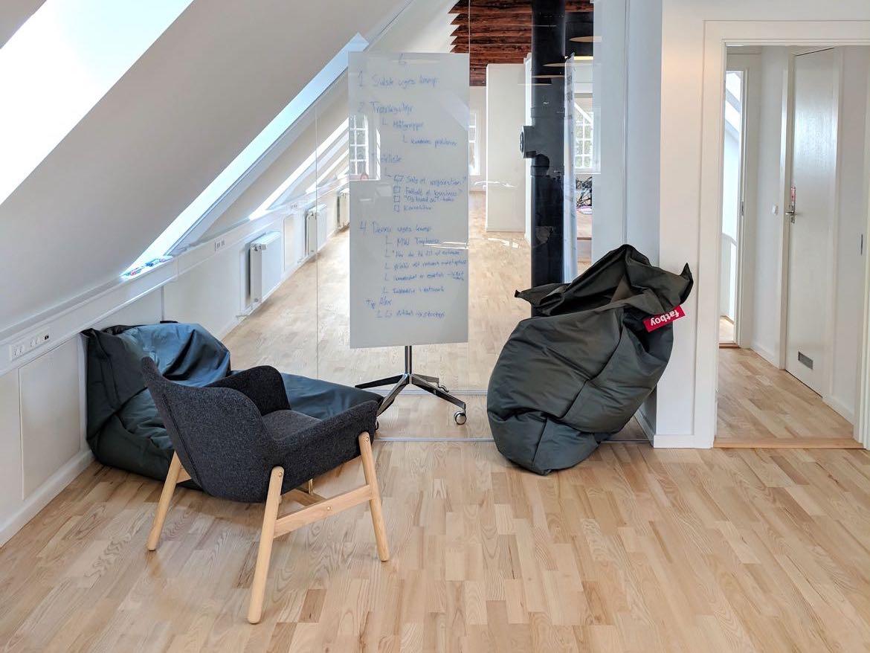Information om hvordan du finder frem til vores kontor i Kokkedal