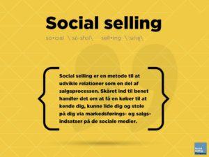 Blogindlæg om hvad social selling er