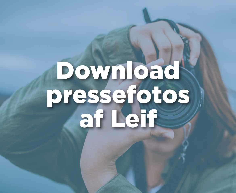Link til downloadområde hvor du finder pressefotos af Leif Carlsen