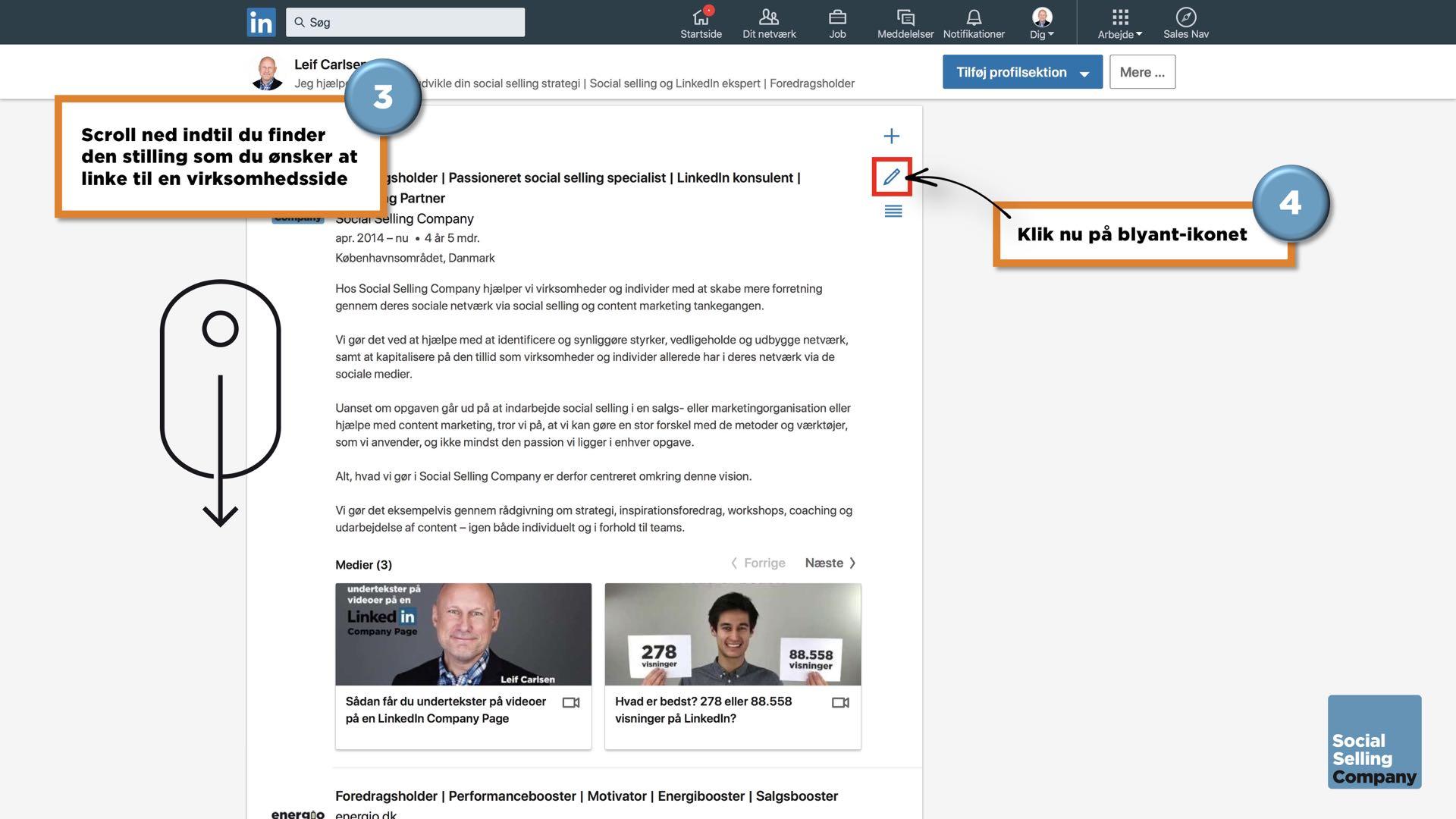 Den ultimative guide til den perfekte LinkedIn profil