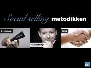 Blogindlæg om hvad social selling metodikken er for en størrelse