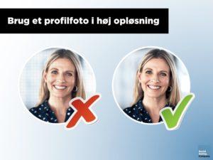 Guide til hvad der kendetegner et professionelt LinkedIn profilfoto