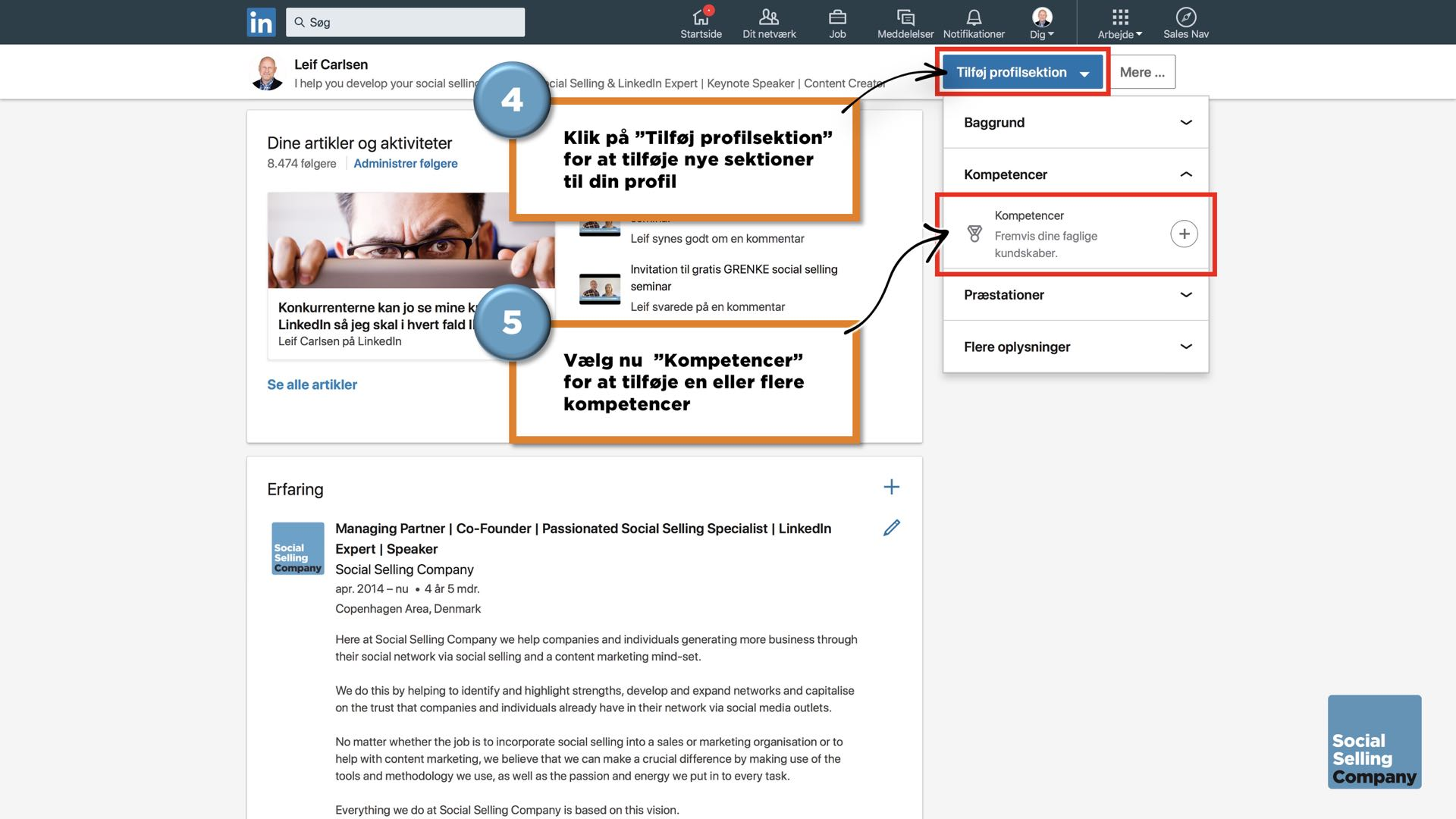 Den ultimative guide til den perfekte LinkedIn guide