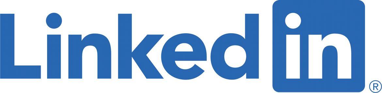 Her kan du se hvordan Linked in logoet ser ud