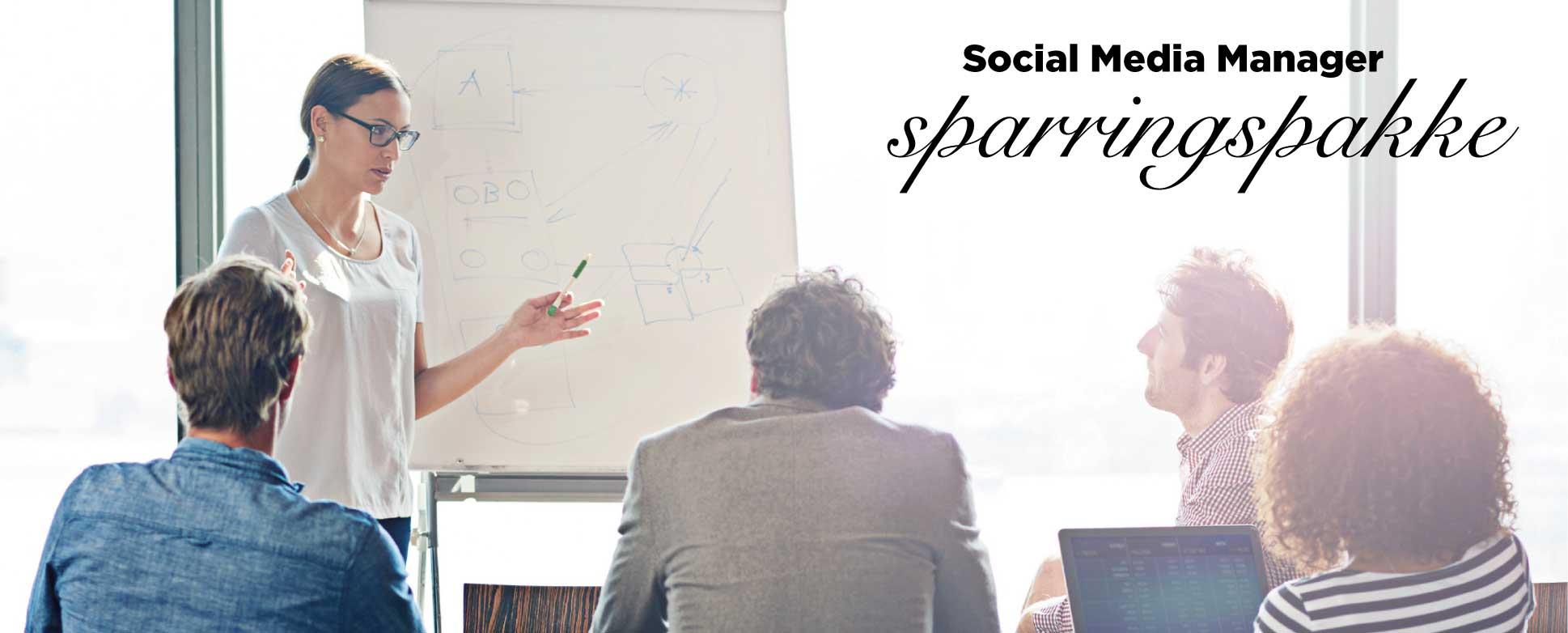 Information om vores Social Media Manager sparringspakke